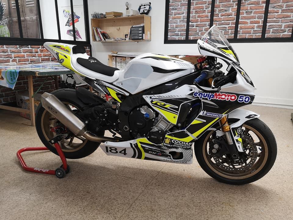 Kit déco piste Yamaha R1
