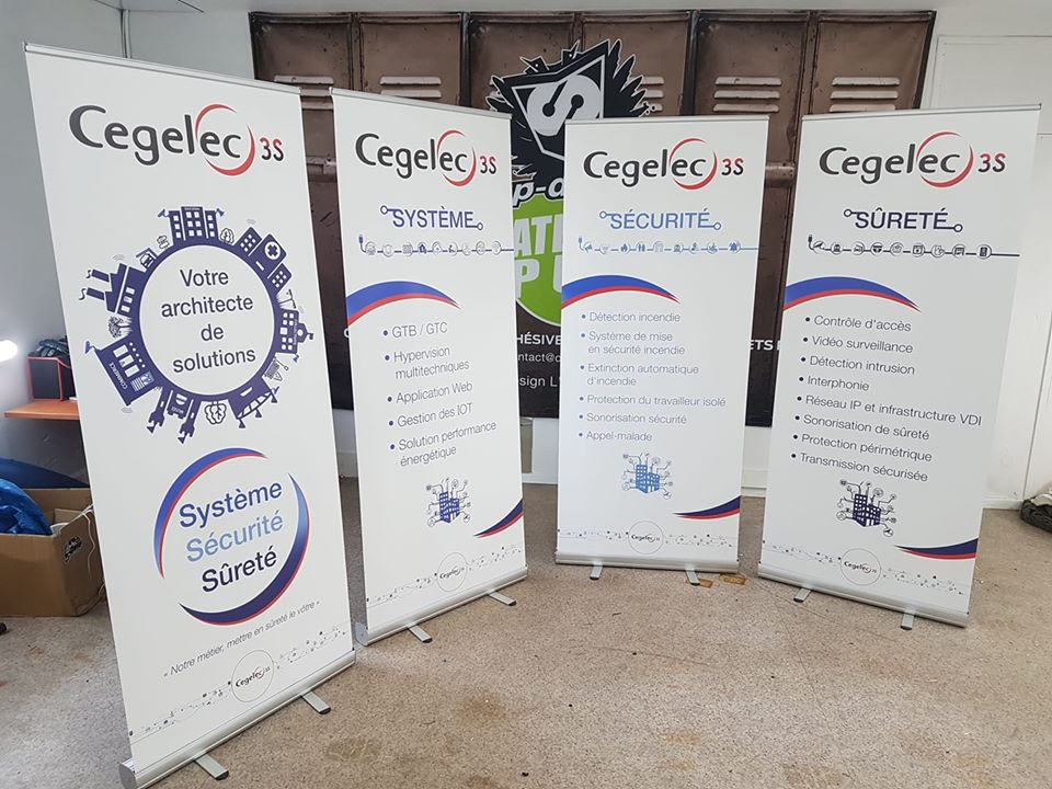 Roll-Up Cegelec 3s