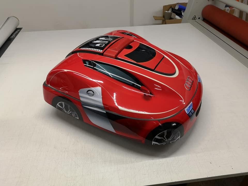 Kit déco Audi robot tondeuse