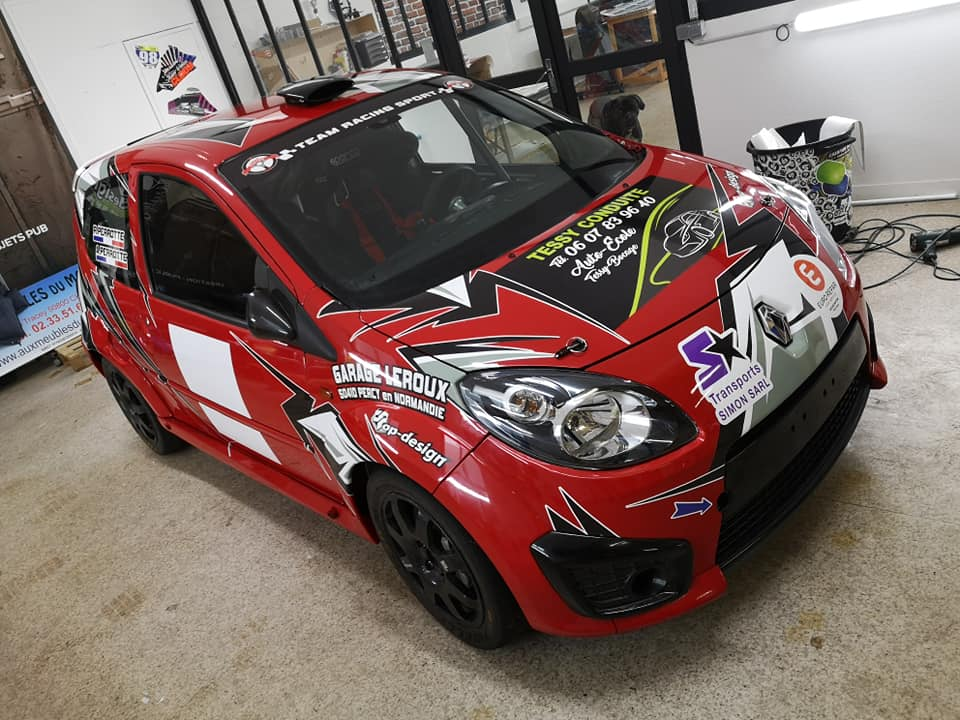 Covering Twingo RS