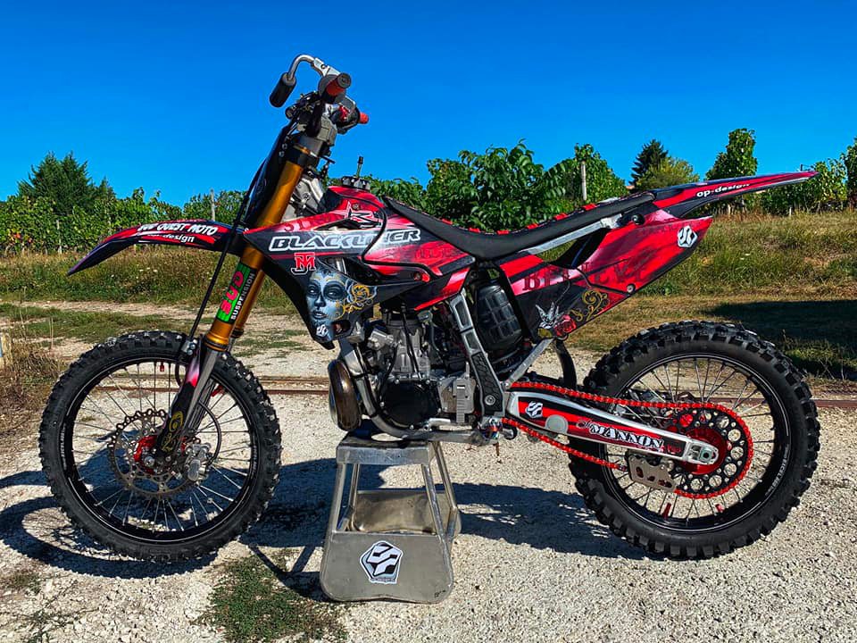 Kit déco 250 YZ FMX Julien Mannon