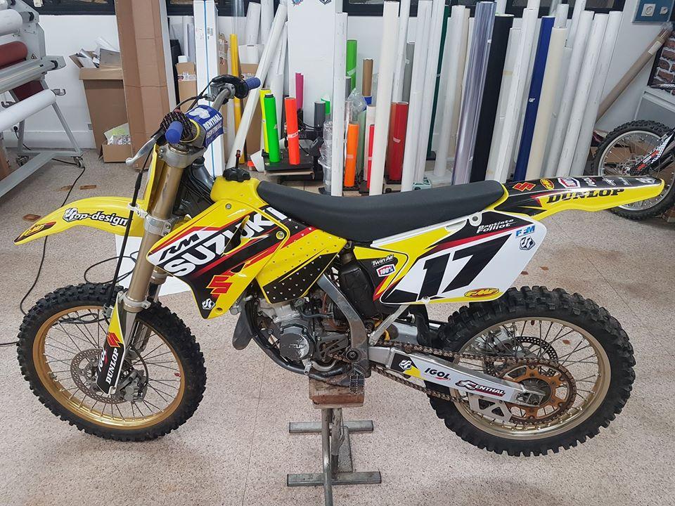 Kit déco Suzuki 125 RM