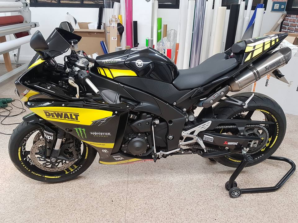 Kit déco Yamaha R1 Dewalt