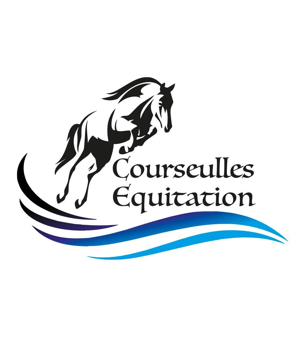 Logo Courseulles Equitation