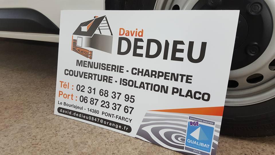 Panneau de chantier David DEDIEU